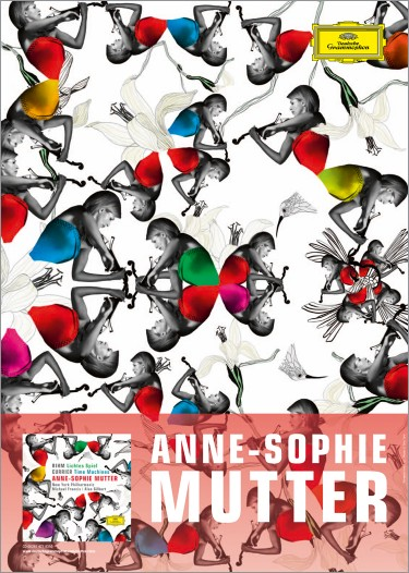 Anne-Sophie Mutter – Plakat