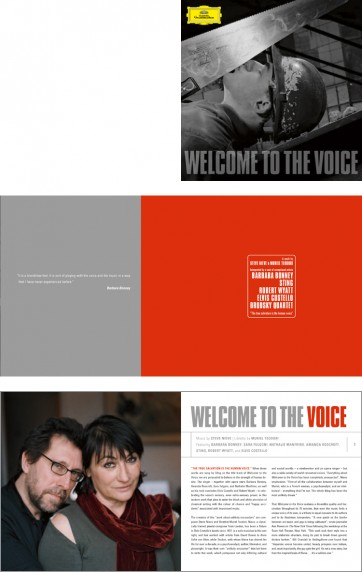 Welcome to the Voice – Pressemappe